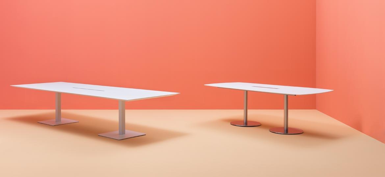 Włoskie stoły biurowe plano pedrali