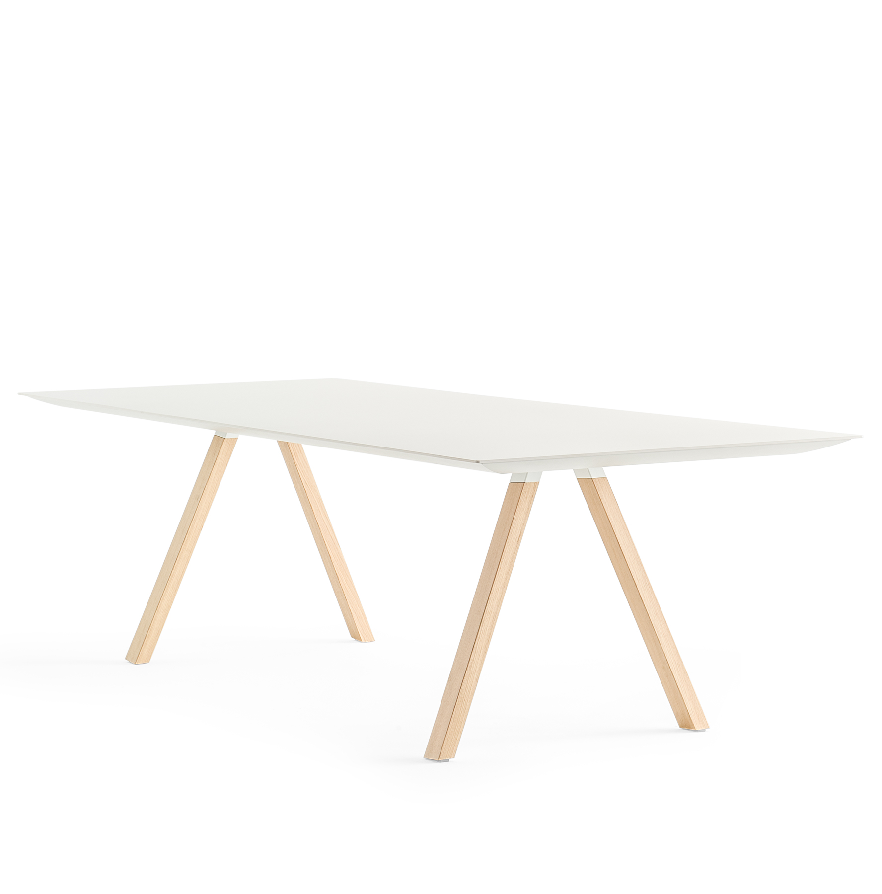 Arki Table drewniane nogi Pedrali