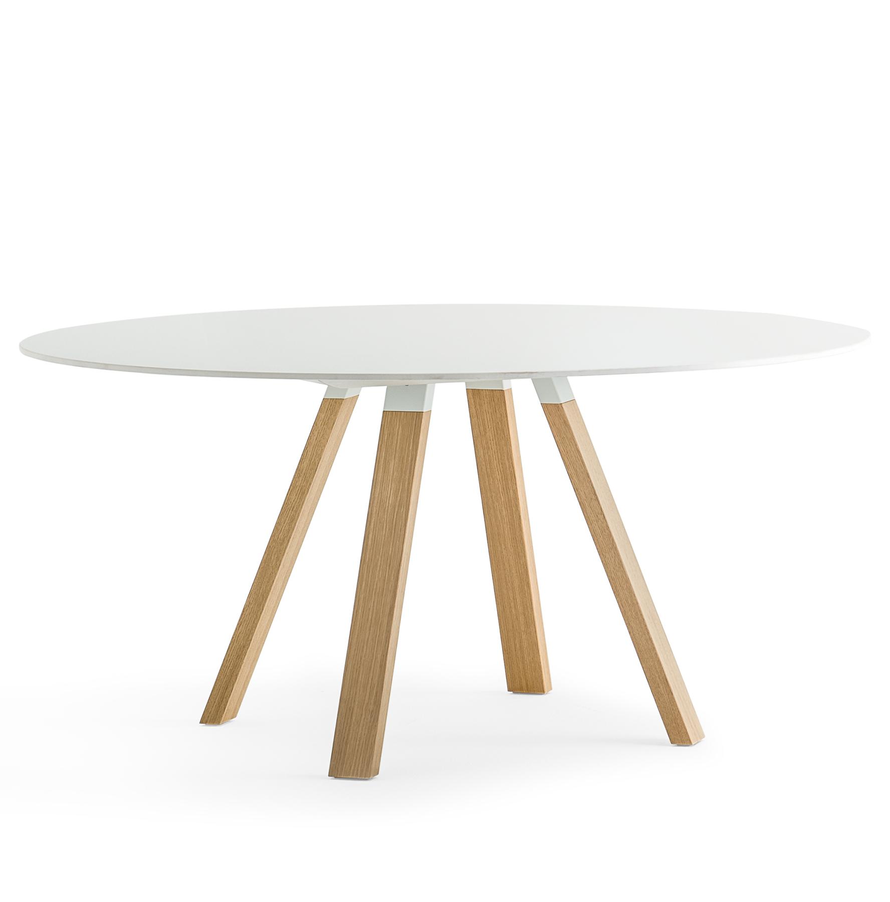 Stół okrągły industrialny Arki Table PEDRALI
