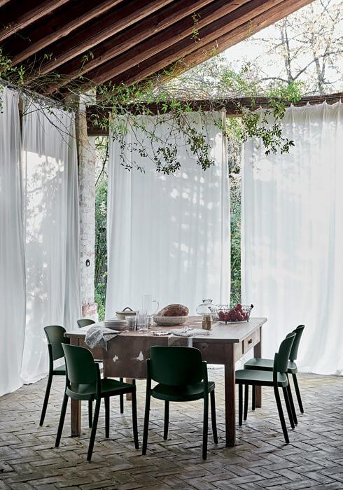 krzesło ogrodowe włoskie PIAZZA colos