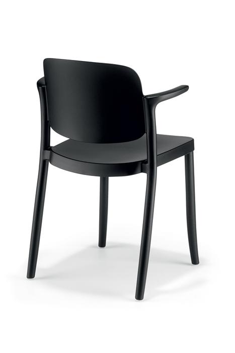krzesło z podłokietnikami do ogródka PIAZZA Colos