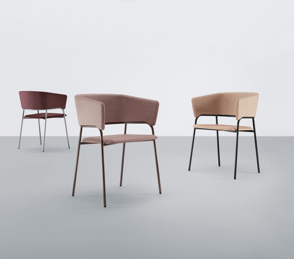 Krzesło tapicerowane Play 538 Et Al.