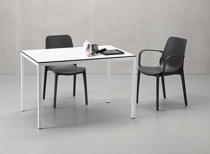 Biały stół do restauracji MIRTO Scab Design