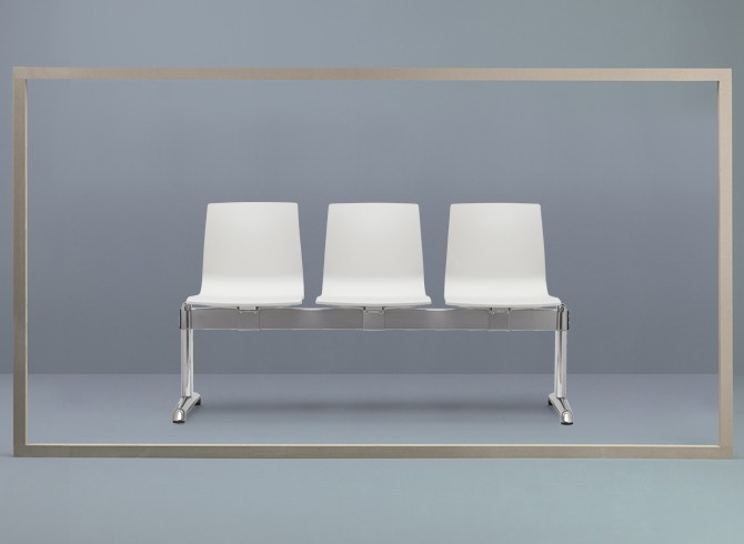 nowoczesna ławka do poczekalni ALICE SCAB DESIGN