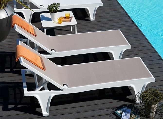 leżaki basenowe Tahiti Scab Design