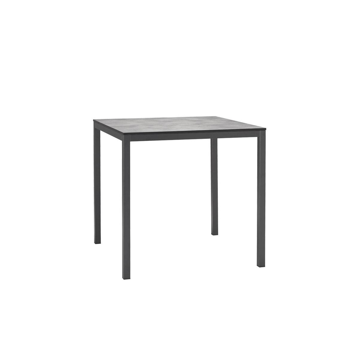 Czarny stolik do restauracji i kawiarni MIRTO