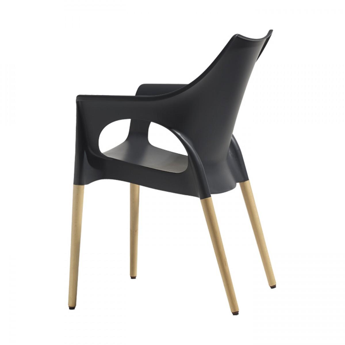 Krzesło do salonu Natural Ola Scab Design