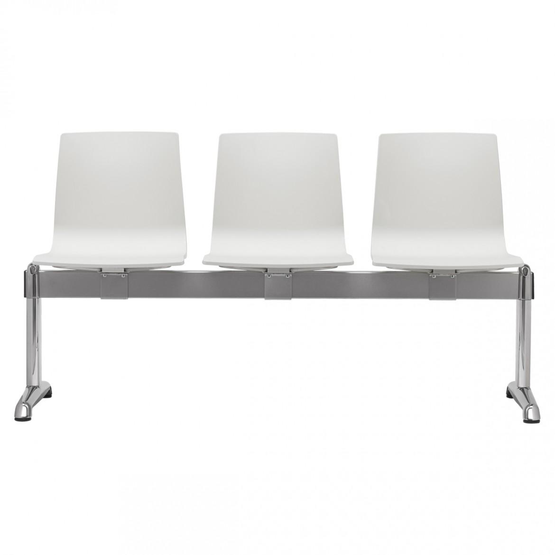 ławka trzyosobowa Alice Scab Design - do poczekalni, holu, dworca, lotniska