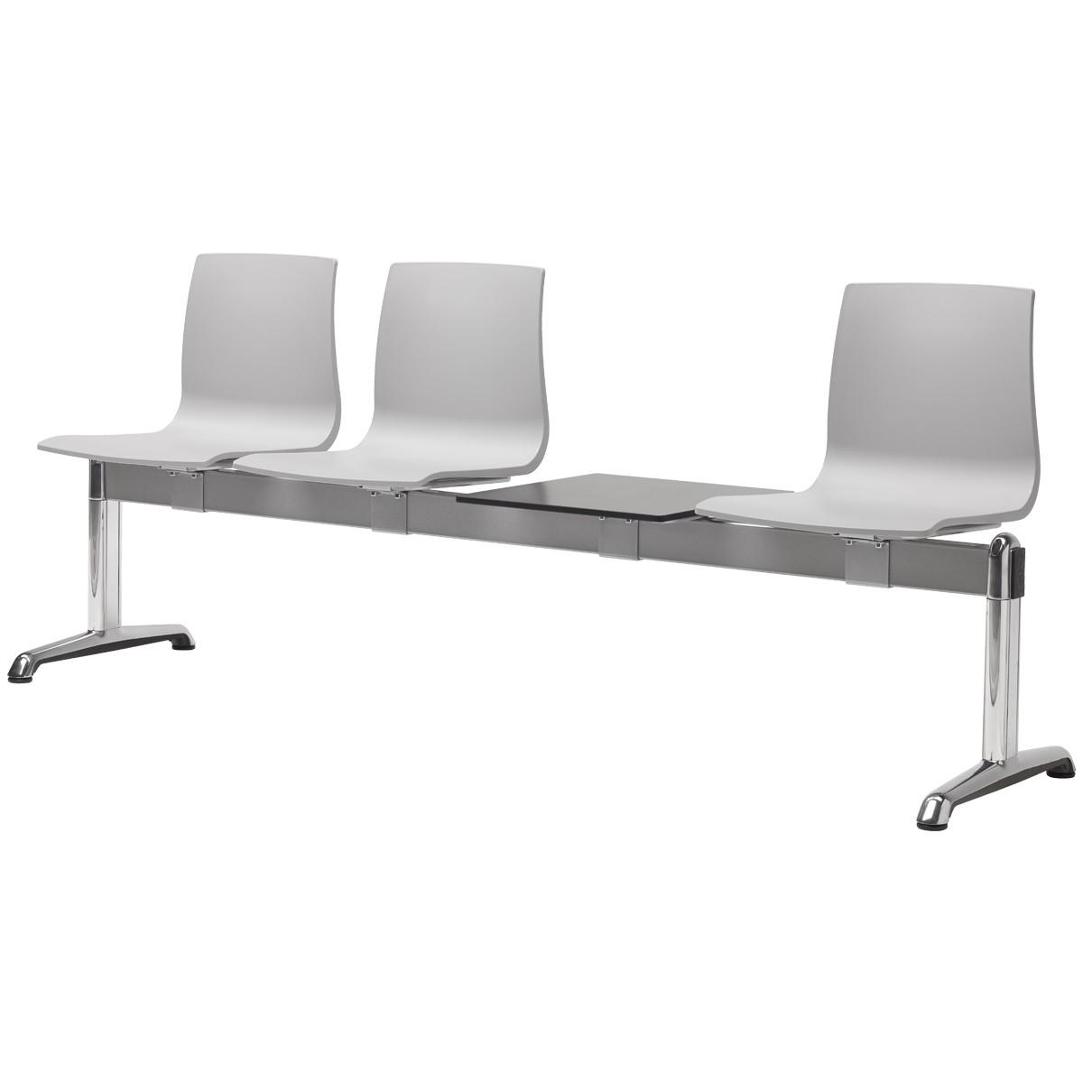 Ławka trzyosobowa do poczekalni ze stolikiem Alice Scab Design