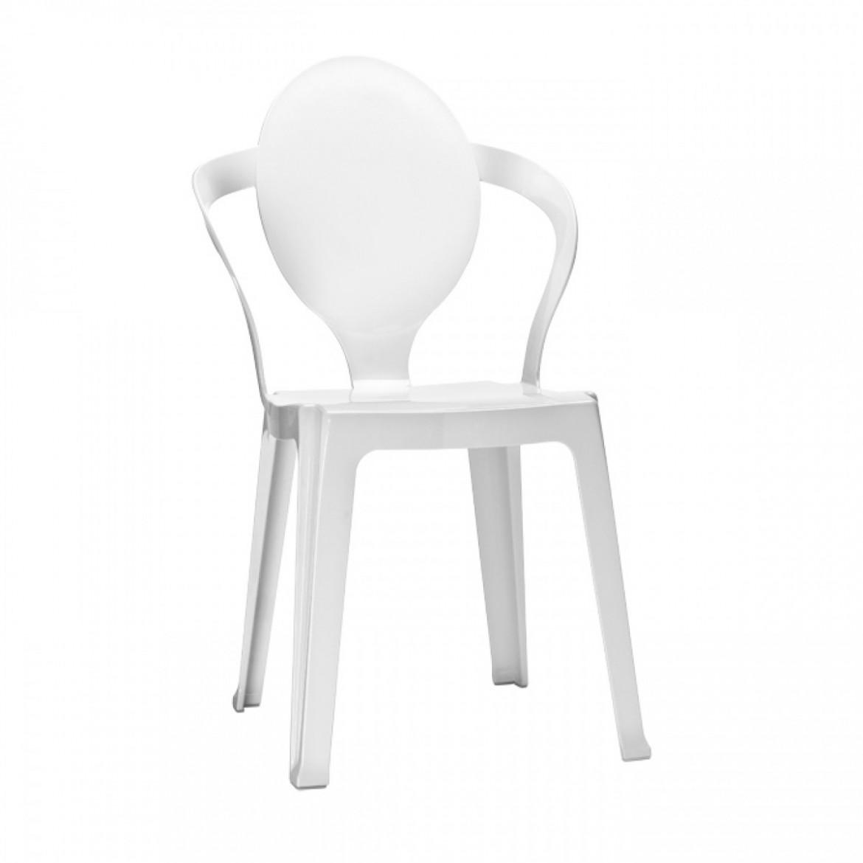 białe krzesło spoon scab design