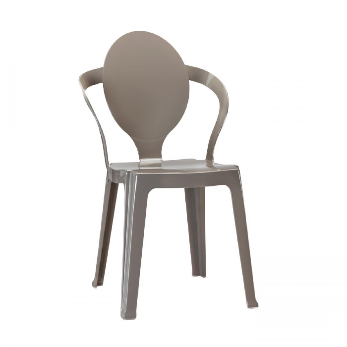 Spoon Scab Design tortora krzesło nowoczesne