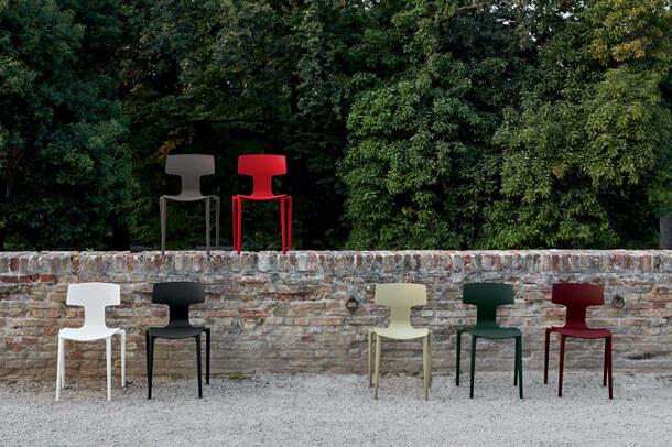 krzesło nowoczesne z tworzywa SPLIT COLOS