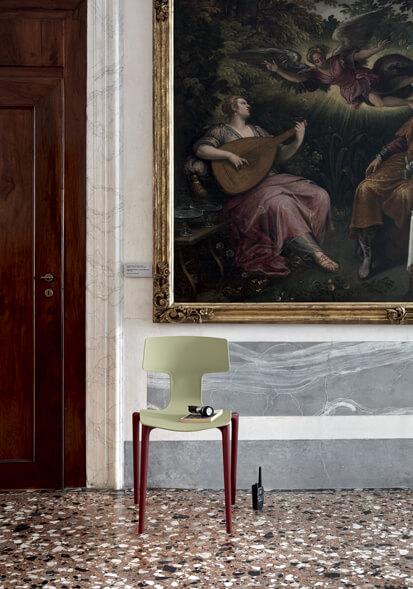 włoskie krzesło do ogródka SPLIT COLOS