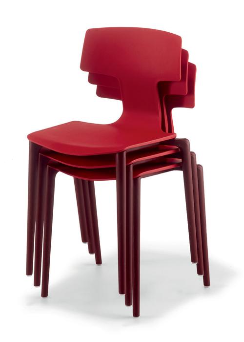 krzesło restauracyjne do sztaplowania SPLIT COLOS