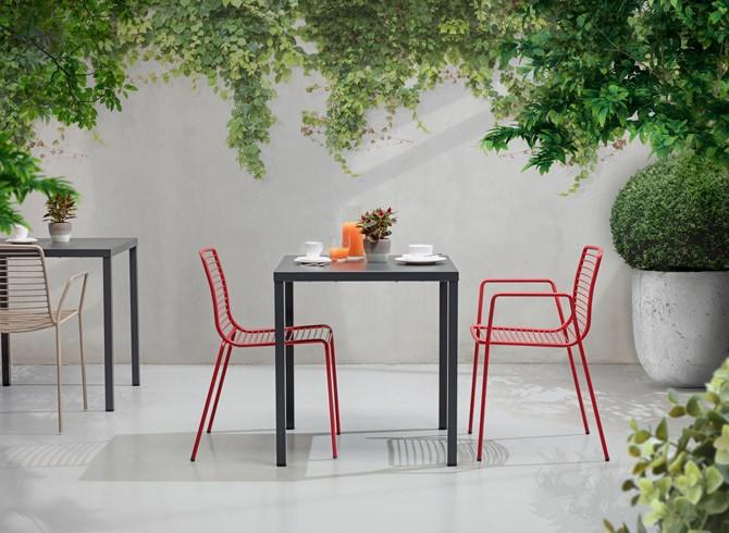 Stolik ogrodowy restauracyjny SUMMER 70x70 cm
