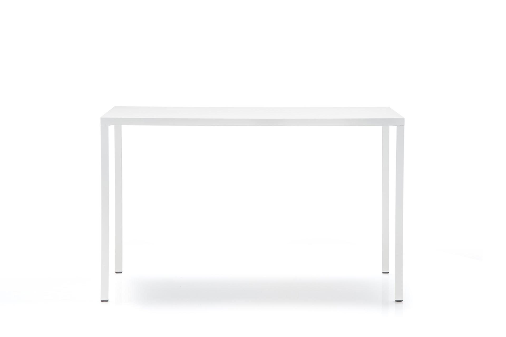 Stół stalowy do restauracji biały Fabbrico Pedrali