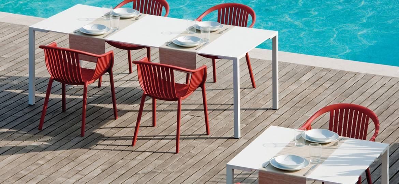 Stół laminowany do restauracji TOGO PEDRALI
