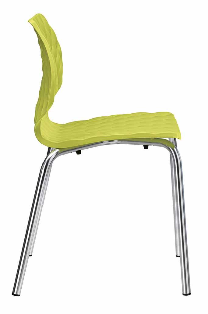 Krzesło chromowane Uni Metalmobil