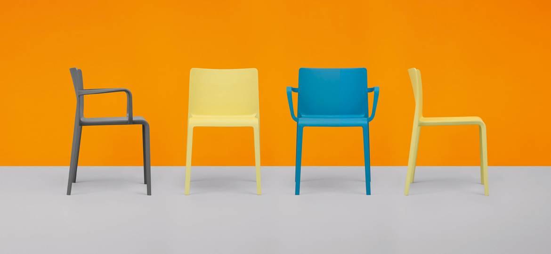 krzesła włoskie VOLT Pedrali