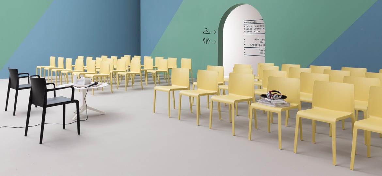 Krzesło plastikowe na konferencje VOLT Pedrali