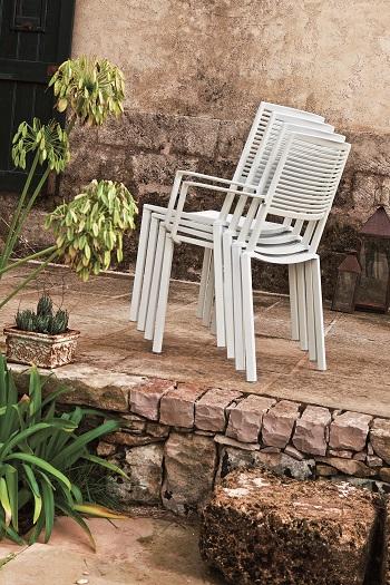 Włoskie krzesła do ogrodu Fast