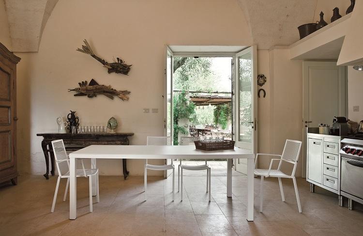 Włoskie krzesło nowoczesne Easy Fast