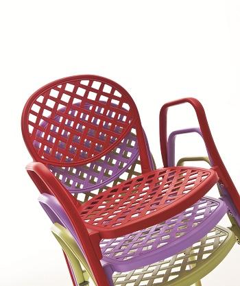 Krzesło do ogródka kawiarni i restauracji Włoskie