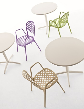 Krzesło Europa włoskie FAST do restauracji i kawiarni