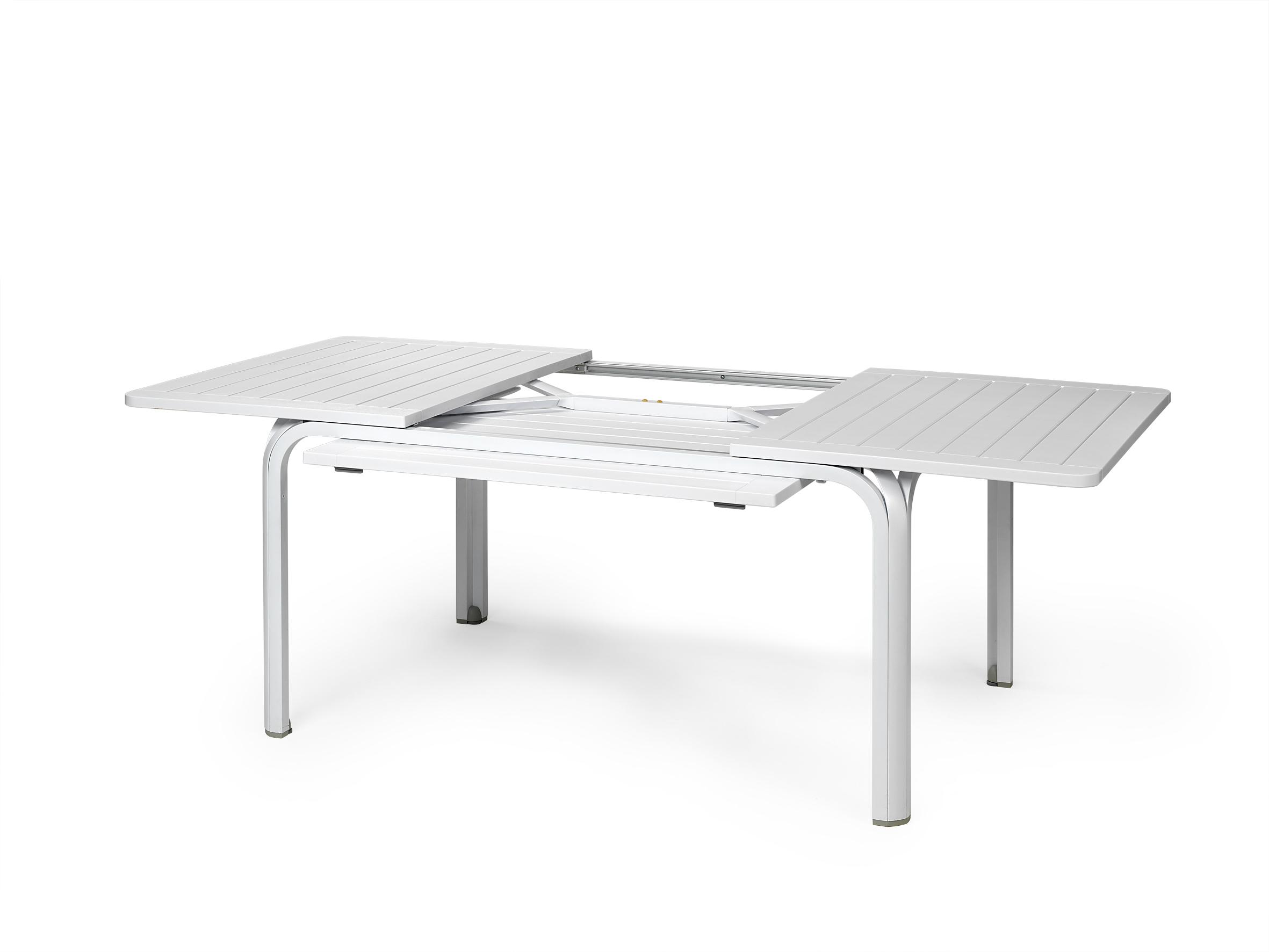 Stół rozkładany Alloro Nardi 140 BIAŁY Bianco