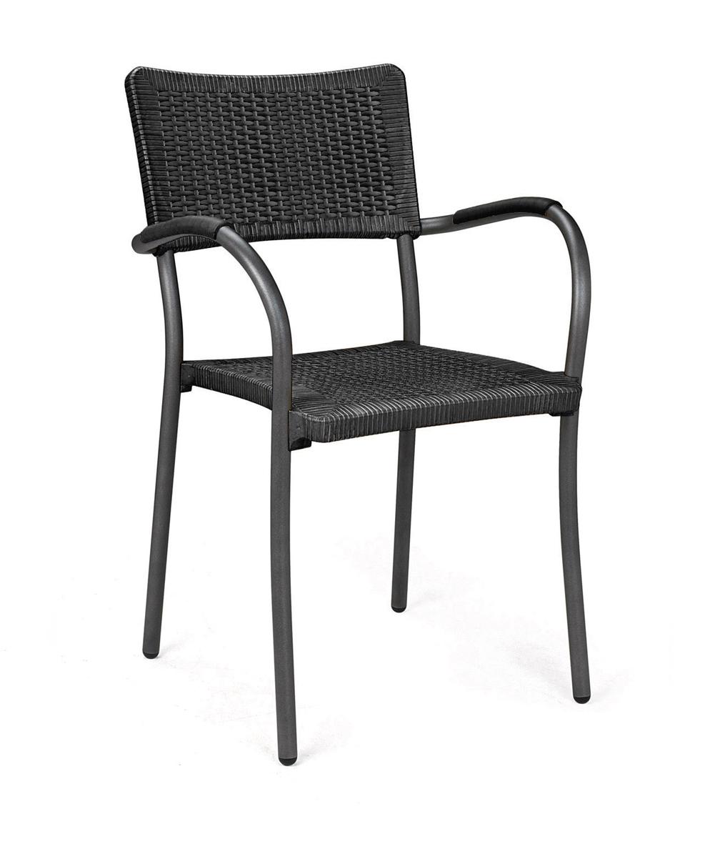 krzesło artica antracytowe Nardi do ogórka restauracji