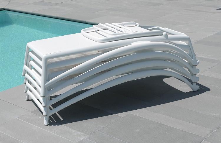 leżak na basen atlantico nardi