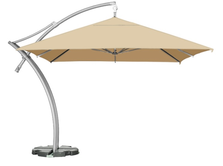 parasol boczny ibiza litex