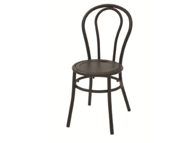 Designerskie krzesło metalowe BISTRO włoskie