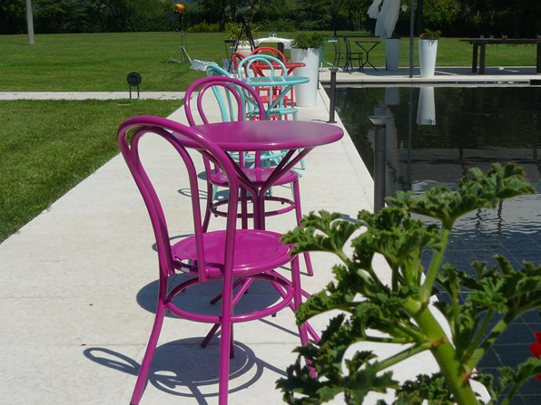 Krzesło Bistro metalowe RD ITALIA