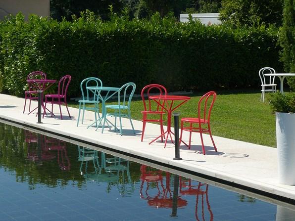 Krzesło do ogrodu kawiarni BISTRO