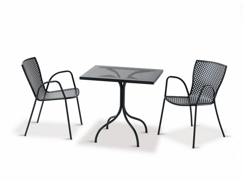 Stół do ogródka restauracyjnego i kawiarnianego BISTROT 60