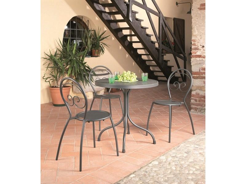 Stół składany metalowy ogrodowy do restauracji  BISTROT