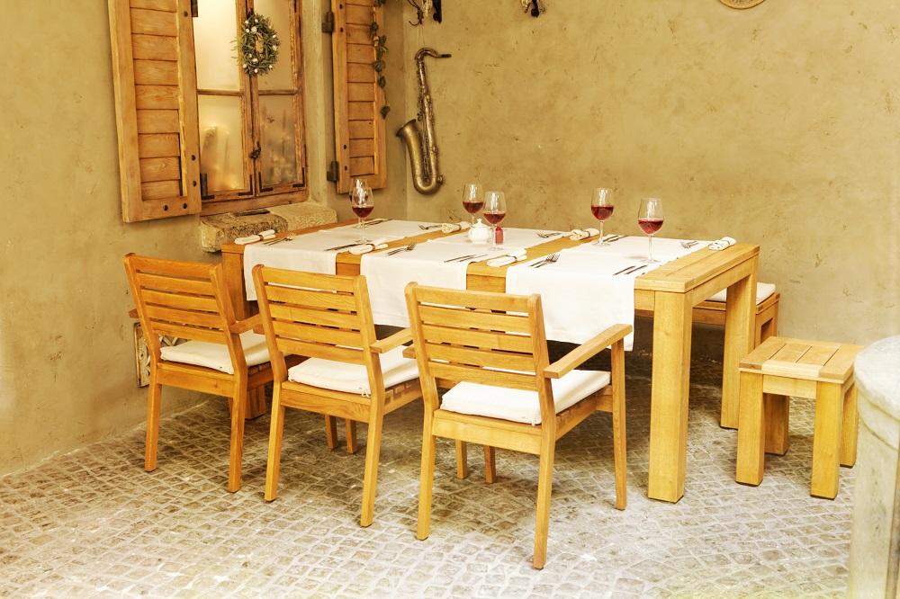 Krzesło drewniane Caro Rondo