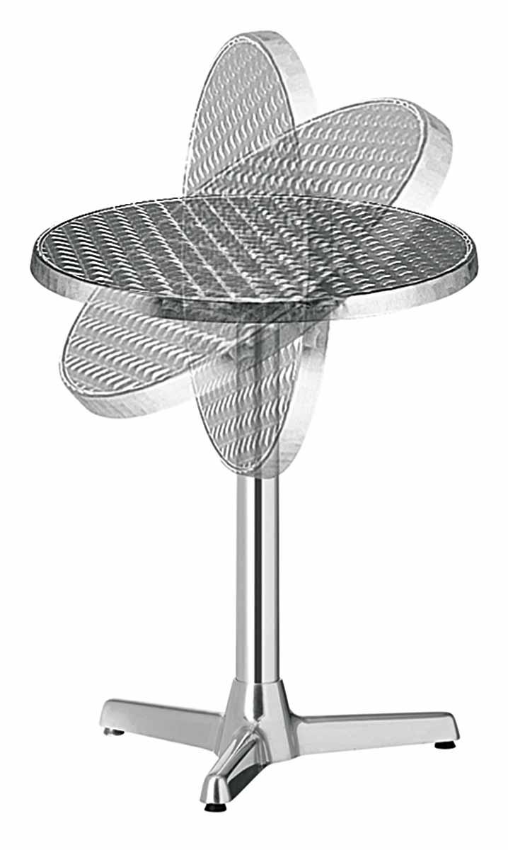 podstawa stołu składana aluminium