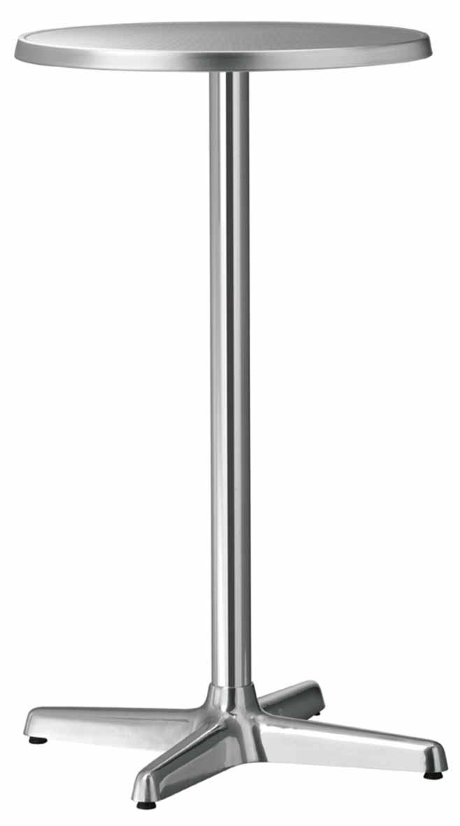 Wysoka podstawa do stołu aluminiowa Metalmobil