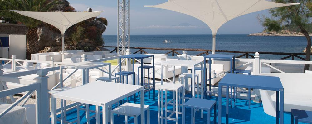 Zestaw barowy do ogródka restauracji Seaside Vermobil
