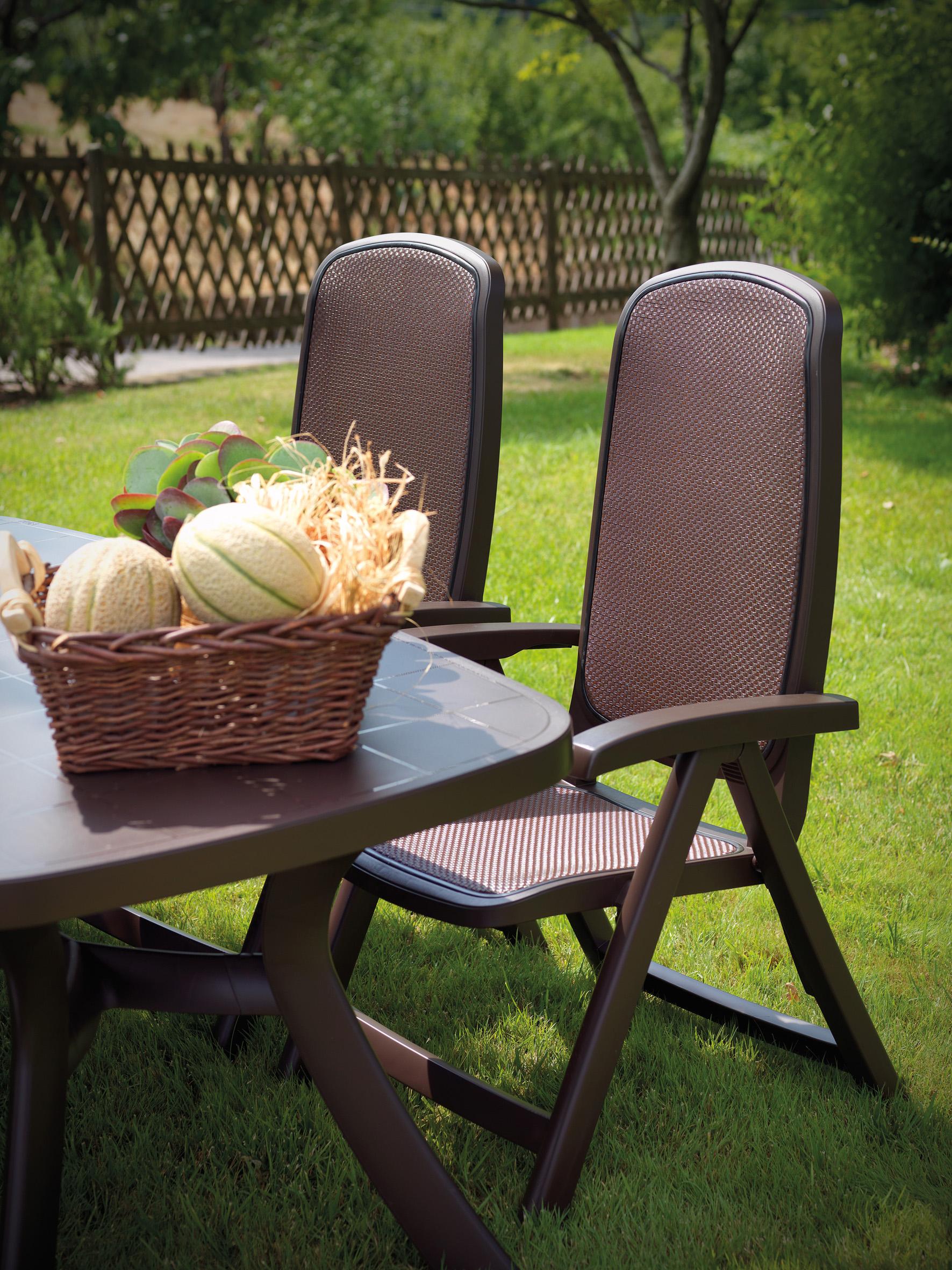 Fotel ogrodowy składany Delta Nardi