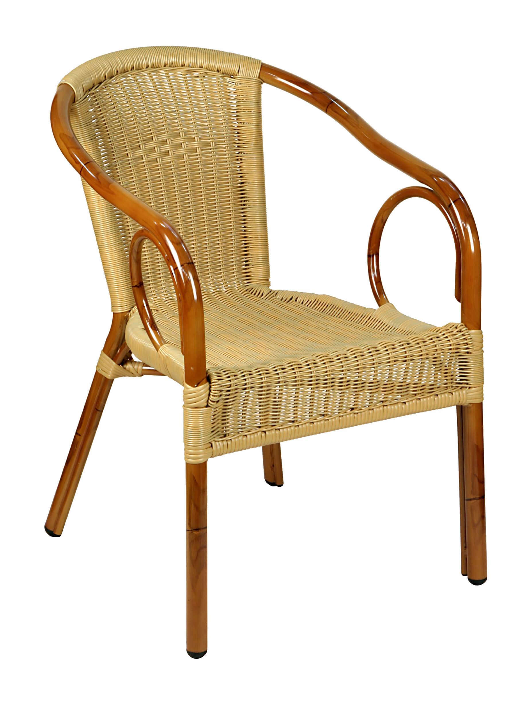 Krzesło technorattan COSTA Classic Natural