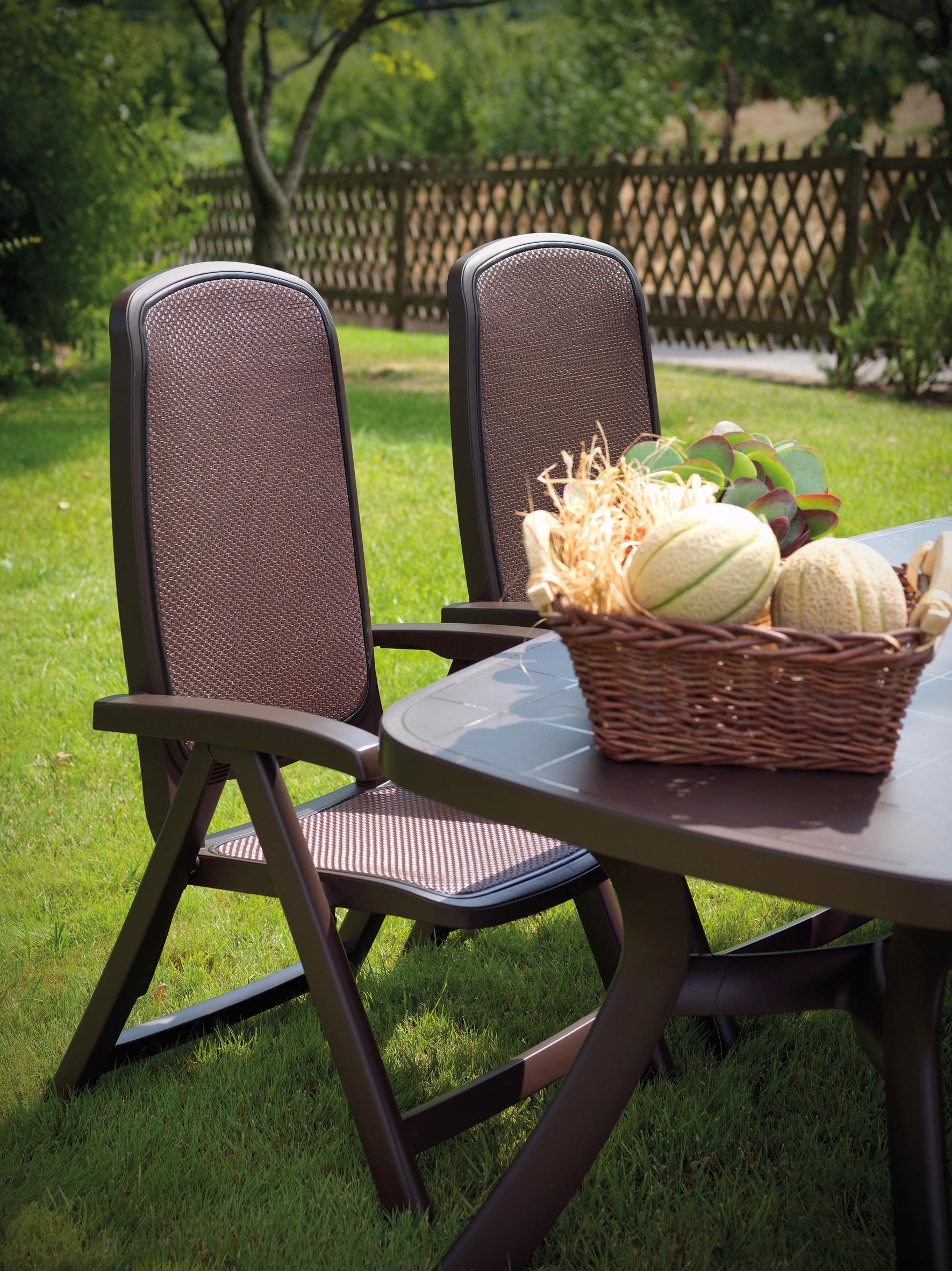Fotel składany do ogrodu Delta Nardi