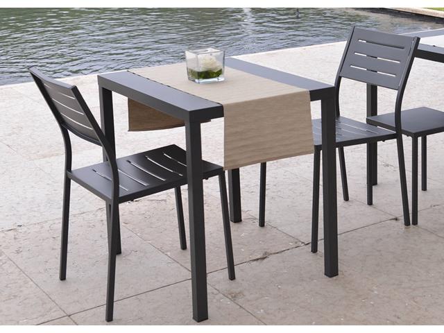 Metalowe krzesło ogrodowe do restauracji DORO RD Italia
