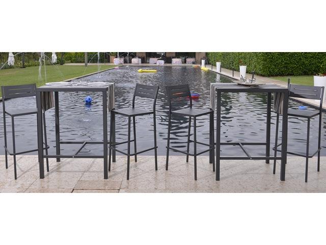 Stół wysoki barowy do ogrodu restauracji RD ITALIA