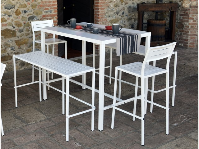 Stół barowy zewnętrzny do lokali gastronomicznych DORIO