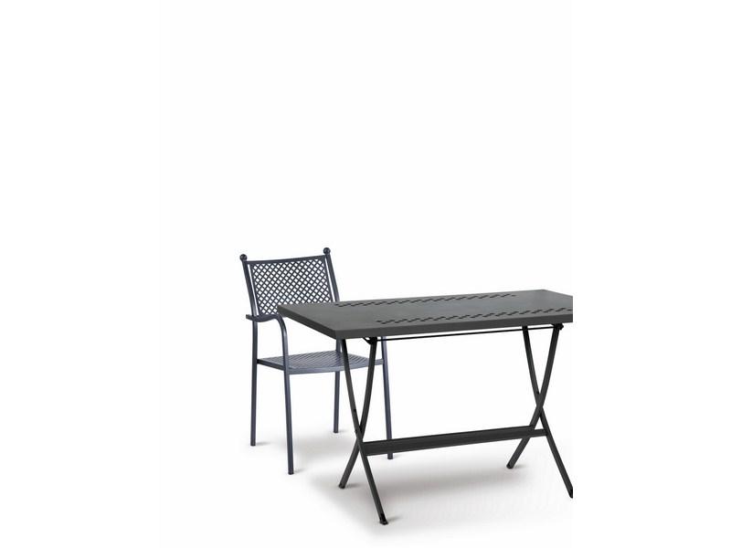 Krzesło metalowe do ogrodu restauracji