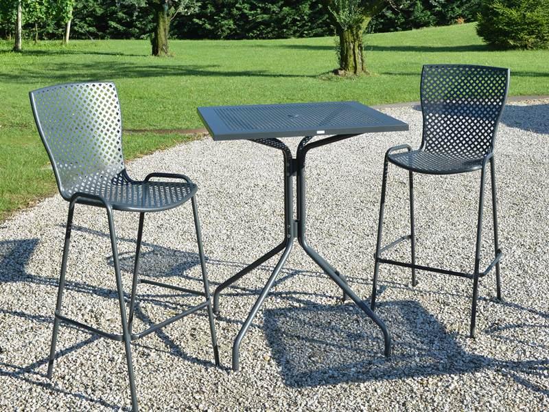 Wysoki stół barowy do ogródka restauracji ESTATE RD Italia