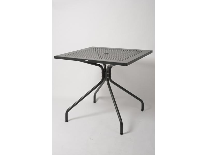 Ażurowy stół metalowy do ogrodu ESTATE 80